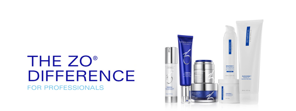 Dr. Obagi's Zo collection for professionals available at Azura Skin Care Center - Cary, NC