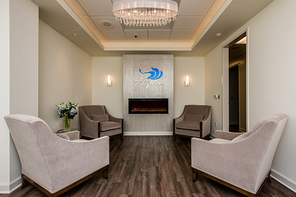 Azura Skin Care Center Waiting Room/Main Lobby