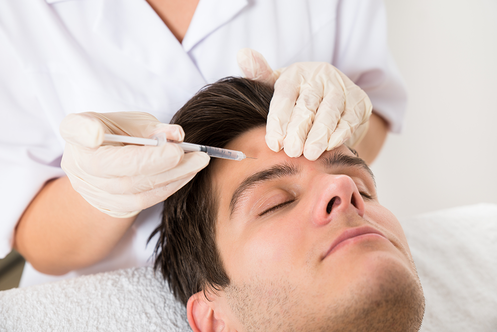 Botox for men at Azura Skin Care Center in Cary, NC