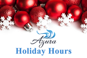 Holiday 2016 Hours at Azura Skin Care Center