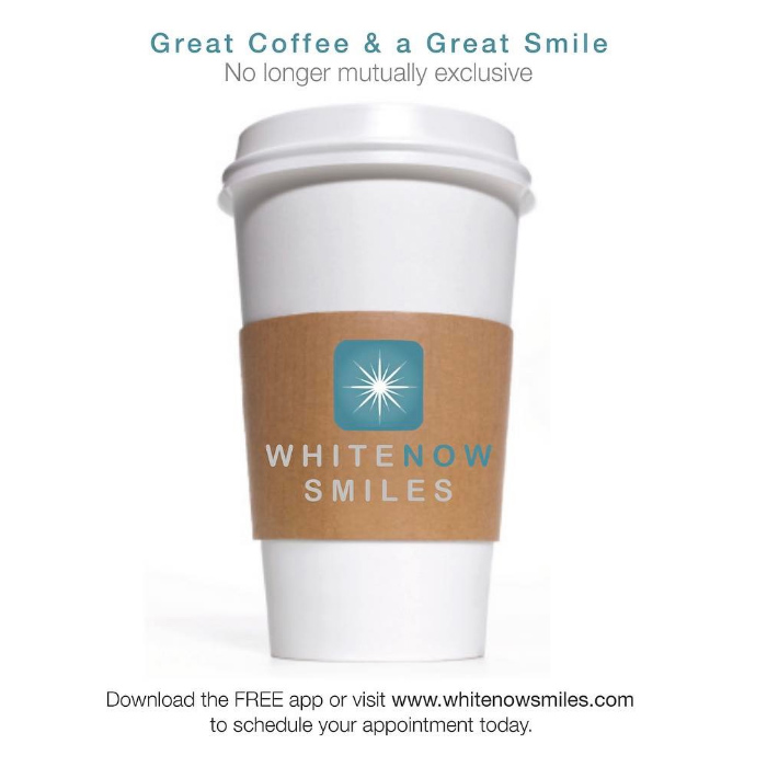 Great coffee and a great smile are no longer mutually exclusive. Pucker up!