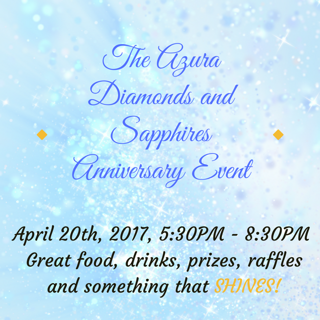 Azura Skin Care Center's Diamonds and Sapphire anniversary party