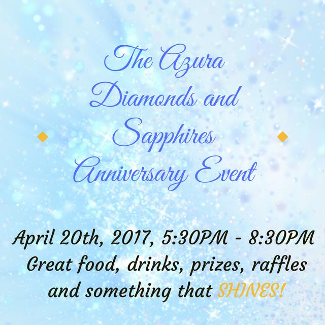 Azura Skin Care Center's Diamonds and Sapphire anniversary party