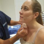 Jennie Kowaleski PA-C Tries Out Internal Radio Frequency Skin Tightening
