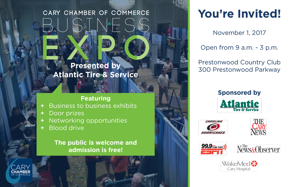 Cary Chamber Expo 2017