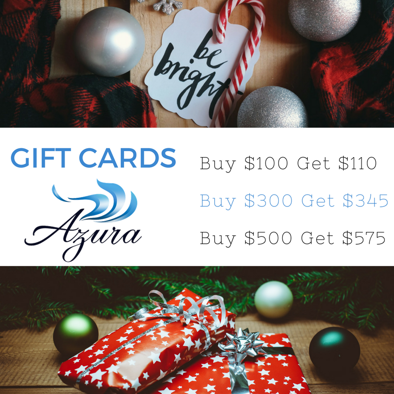 Azura Skin Care Center gift card holiday special