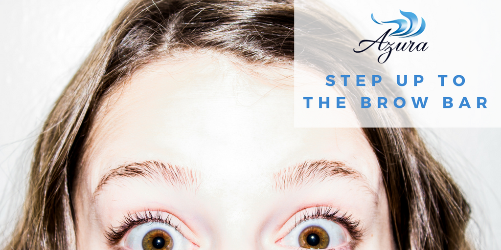 Brow bar and lash services at Azura Skin Care Center Cary, NC