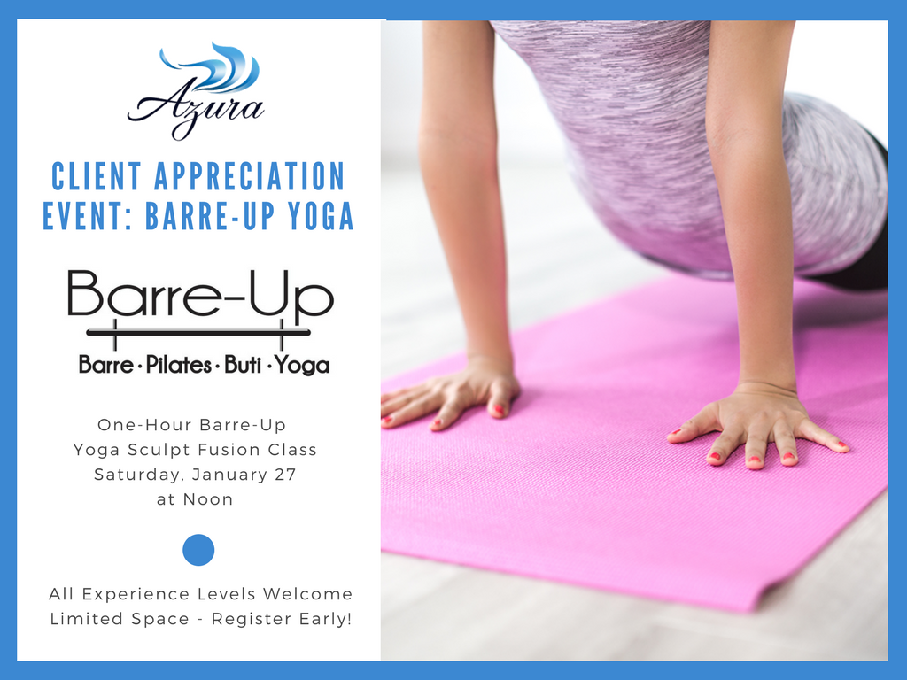 Azura class at Barre-Up