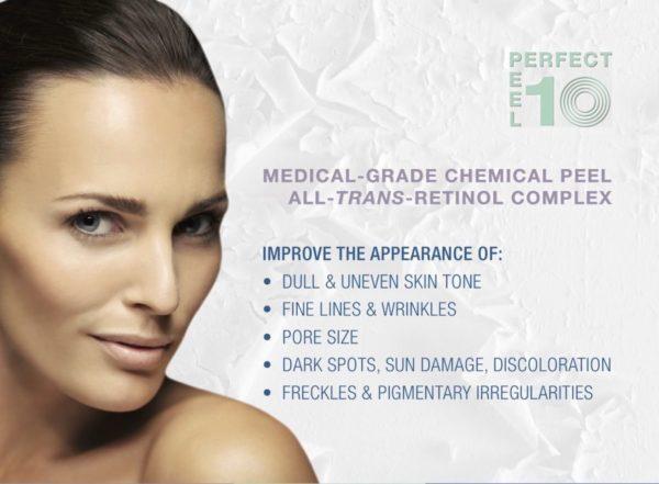 Azura Skin Care Center Cary NC Perfect 10 Peel