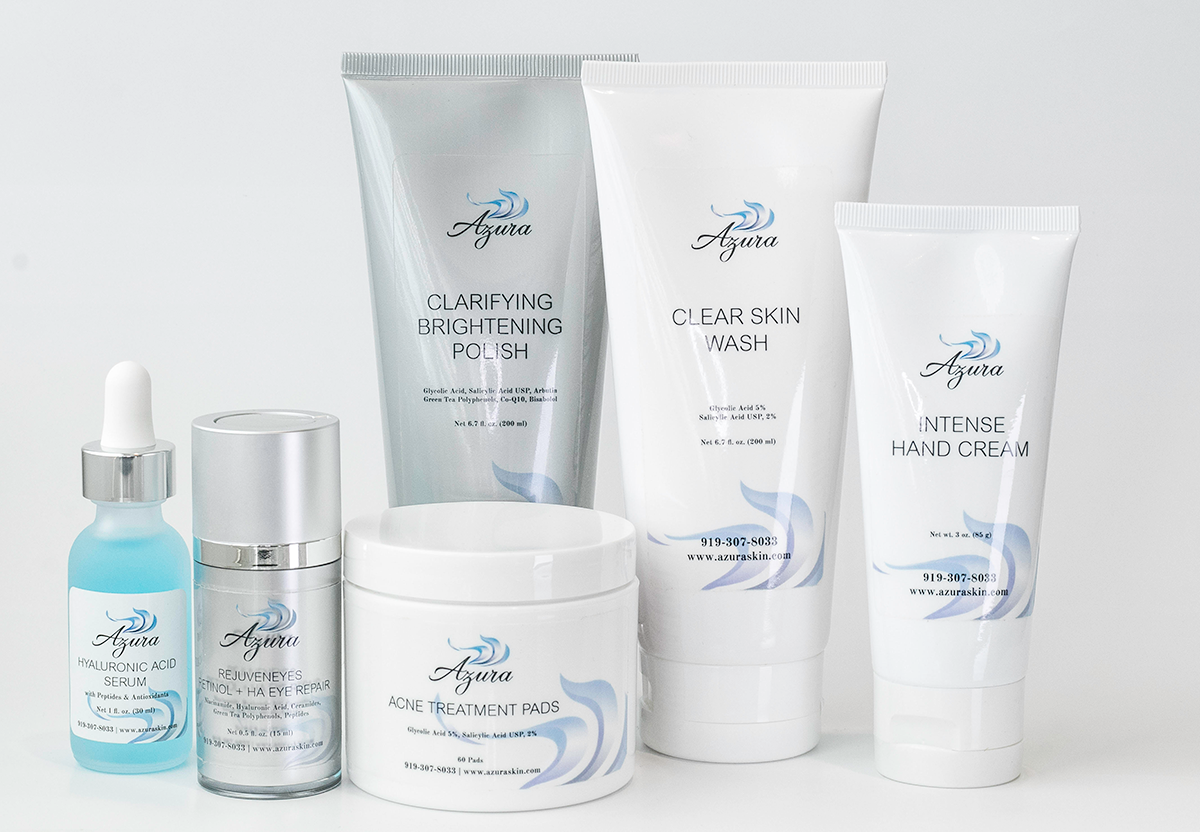 Azura Skin Care Center products