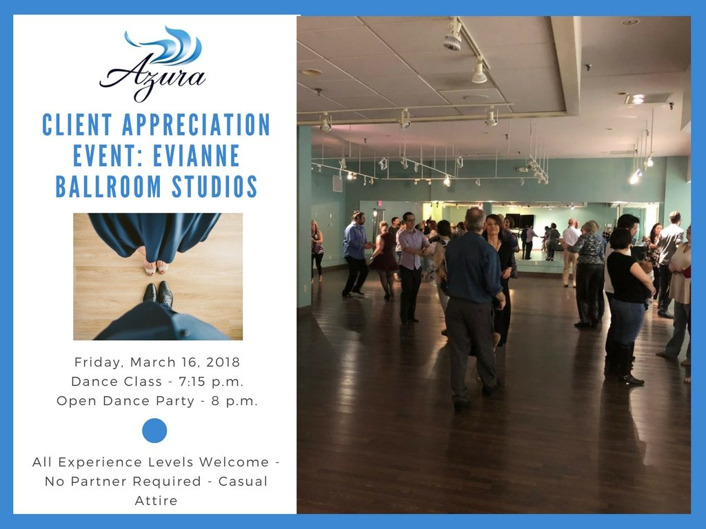 Azura Client Appreciation Event - Dance Lessons