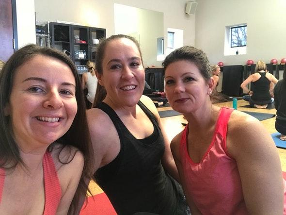 Azura Skin Care visits Barre-Up