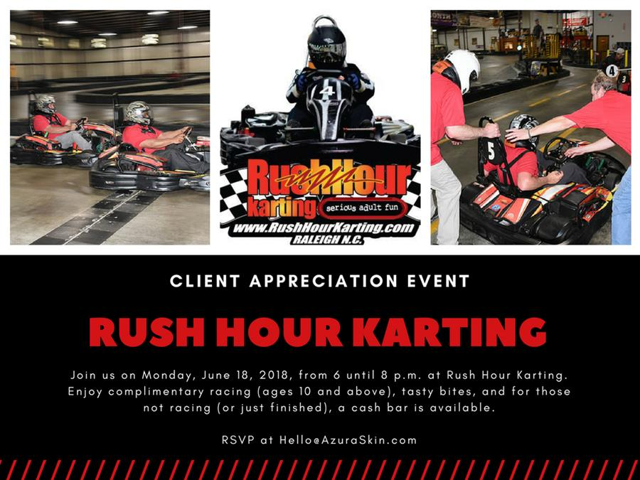 Azura Client Appreciation Event: Rush Hour Karting