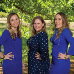 Our very own Jennie Kowaleski, PA-C, is recognized next to Michelle Callaway and Rachel Fox.