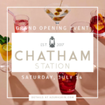 Azura Around Town: Chatham Station Grand Opening