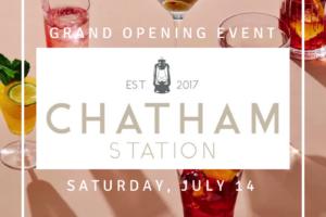 Azura Around Town: Chatham Station Grand Opening