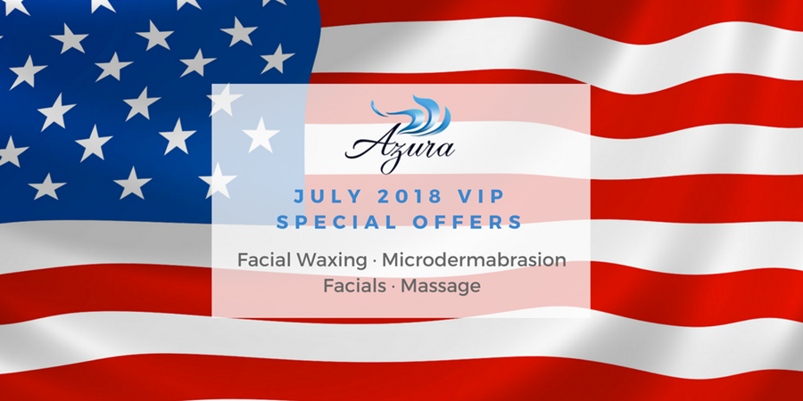 Special offers Azura Skin Care Center Cary NC July 2018