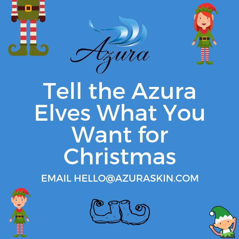 Azura Skin Care Center Christmas Elves