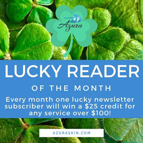 Azura Skin Care Center email rewards