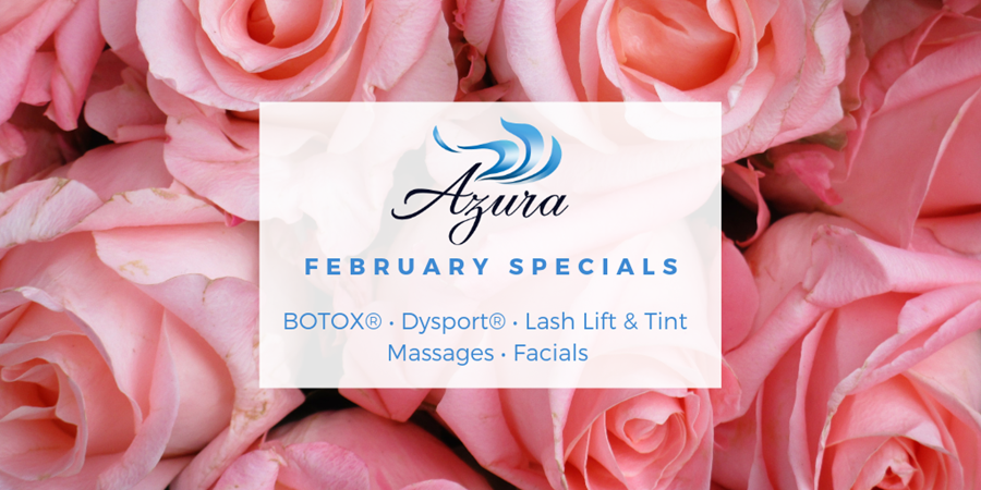 February 2019 Special Offers at Azura Skin Care Center Cary, NC