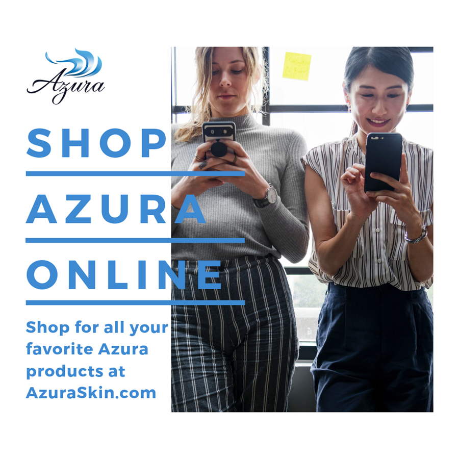 Shop Online with Azura Skin Care Center