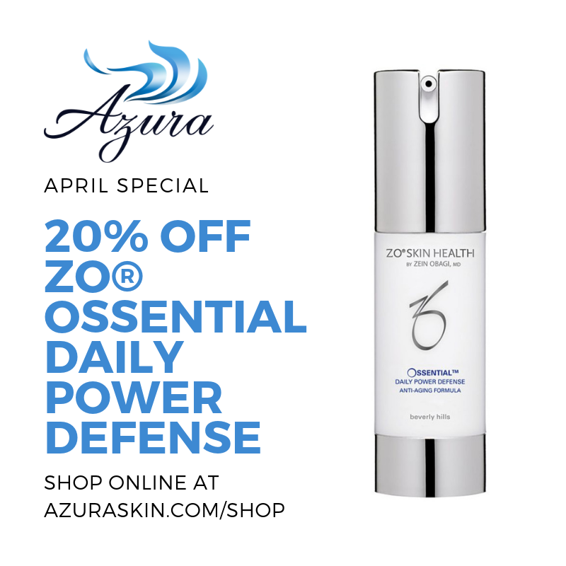 Azura Skin Care Center ZO Ossential Daily Power Defense