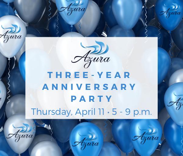 Azura Skin Care Center Three-Year Anniversary Party