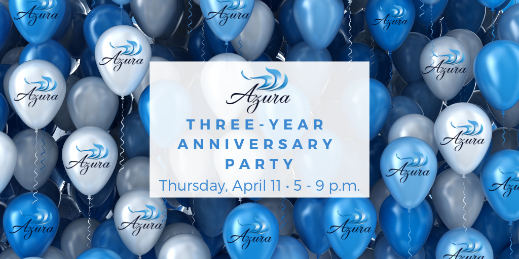 Azura Skin Care Center Three-Year Anniversary Party