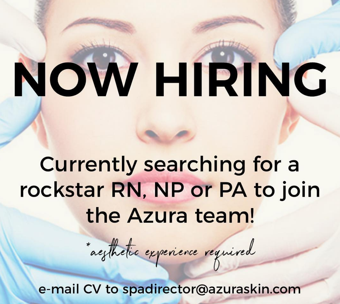 Azura Skin Care Center Cary NC Now Hiring