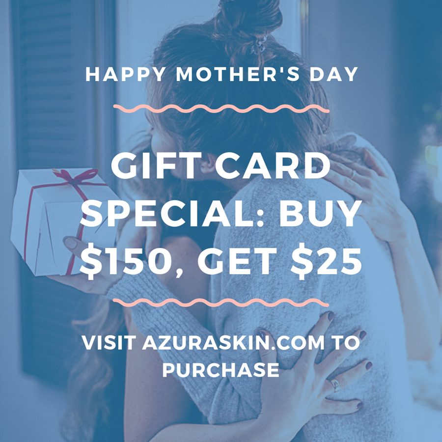 Gift Cards from Azura Skin Care Center Cary, NC