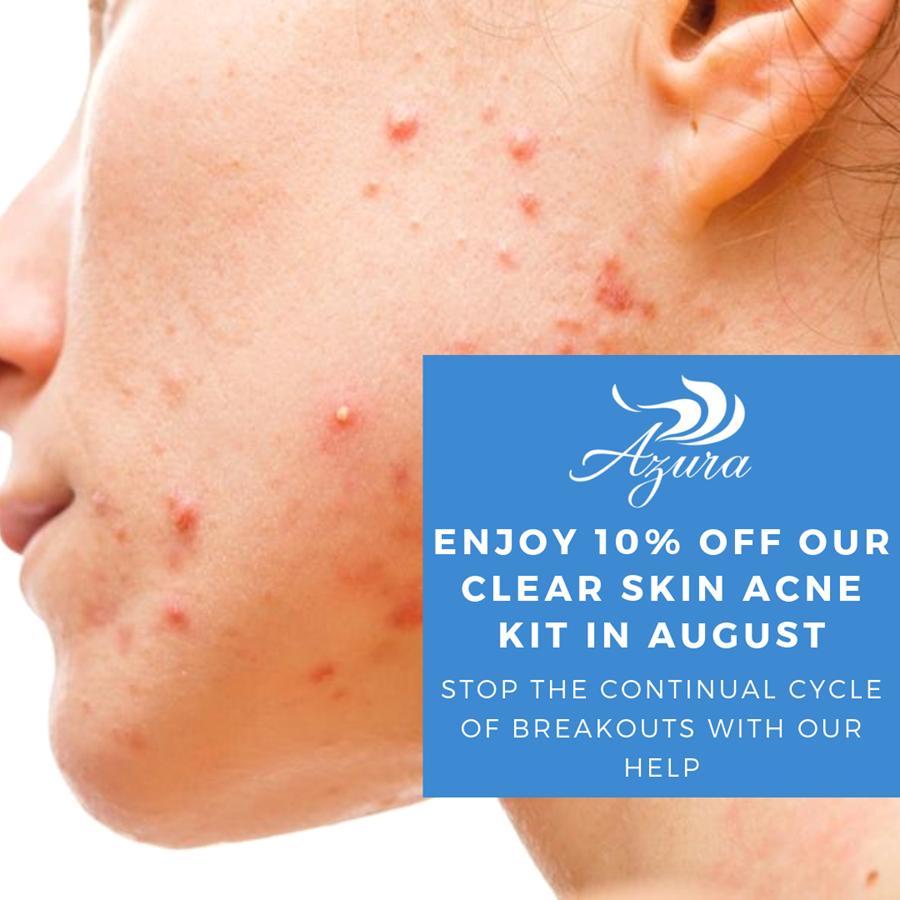 Azura Skin Care Center Clear Skin Acne Kit