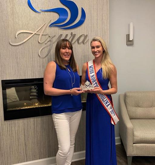 Azura Skin Care Center Sponsors Miss North Carolina Jessie Smith