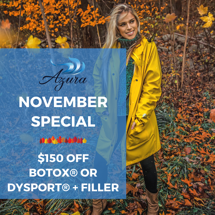 Azura November Botox and Dysport Specials
