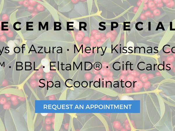 2019 Azura Skin Care Center December Special Offers