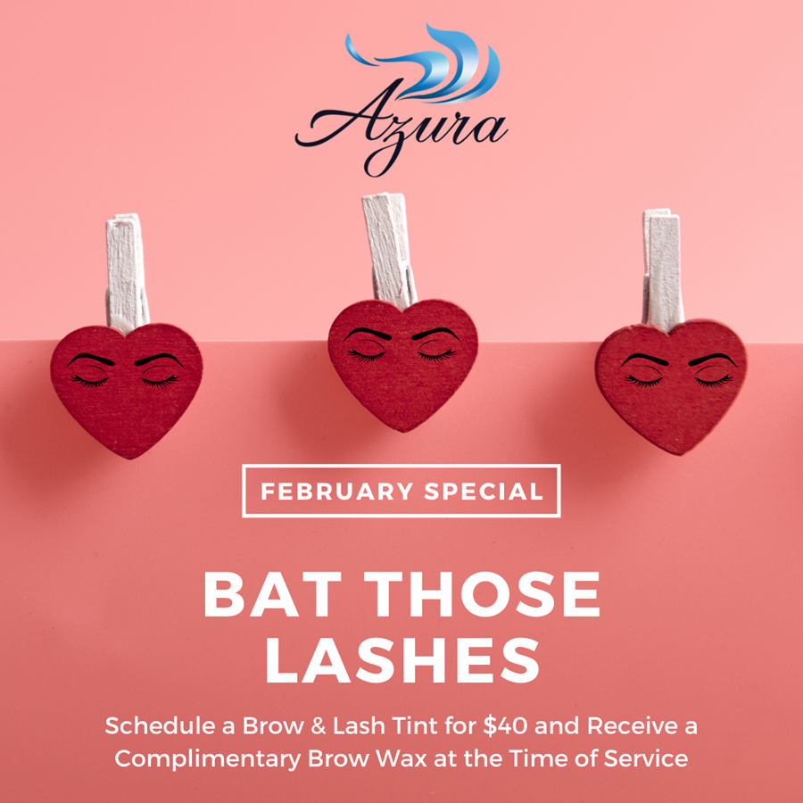 Azura Skin Care Center Brow and Lash Tint Special