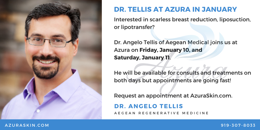 Dr Tellis at Azura Skin Care Center January 2020