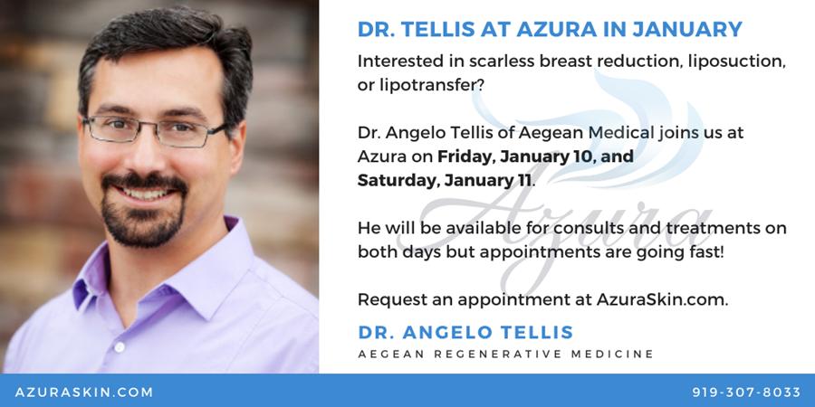 Dr Tellis at Azura Skin Care Center January 2020