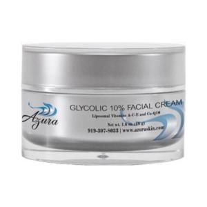 Azura Skin Care Center Glycolic 10 Percent Facial Cream