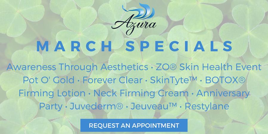 Azura 2020 Special Offers