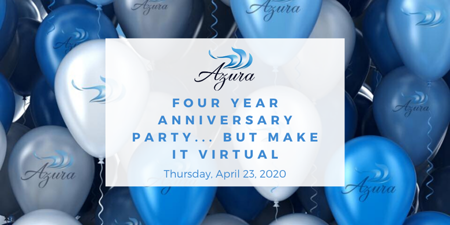 Azura Virtual Anniversary Party