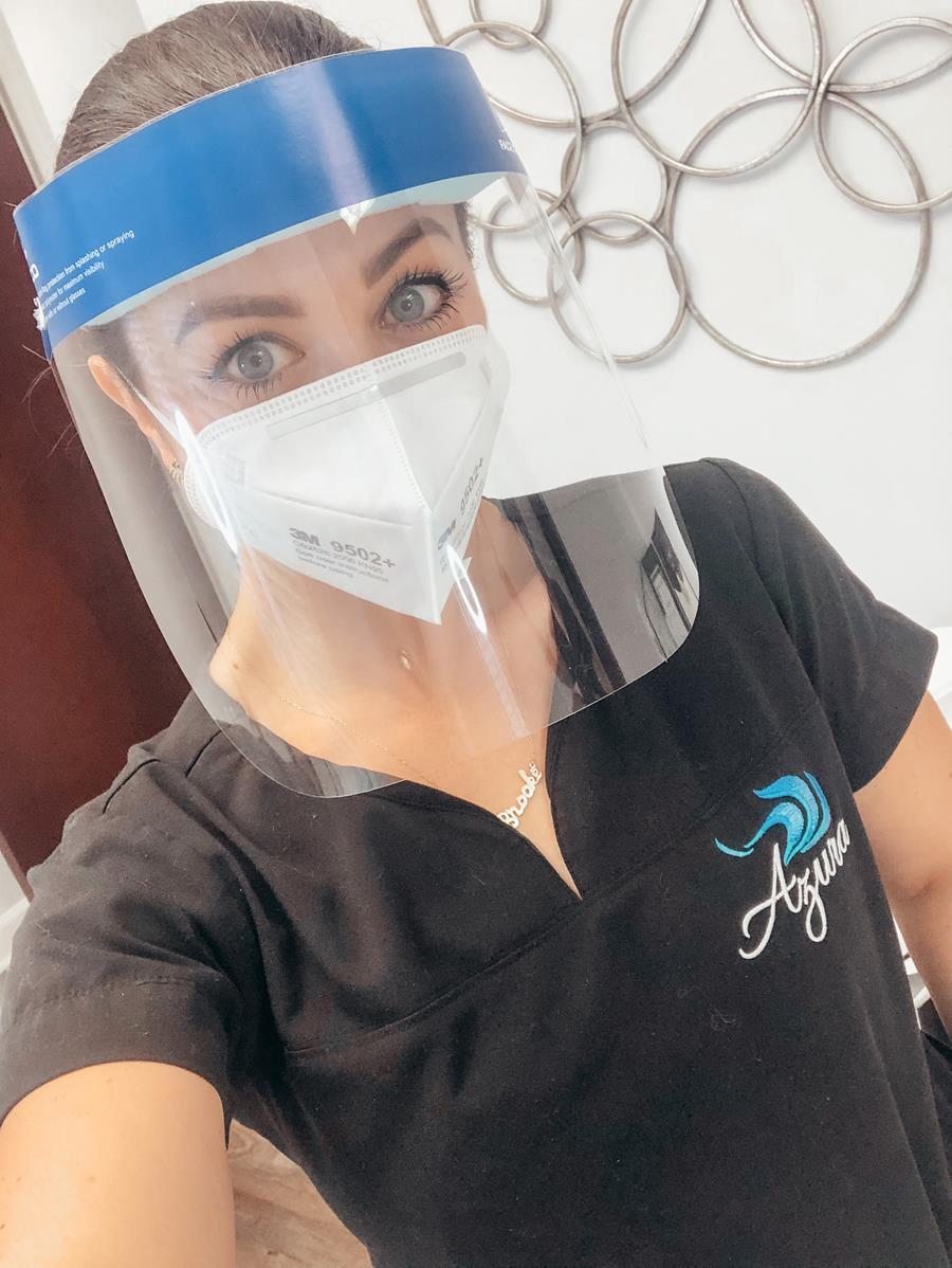 Heatlh Precautions at Azura Skin Care Center!