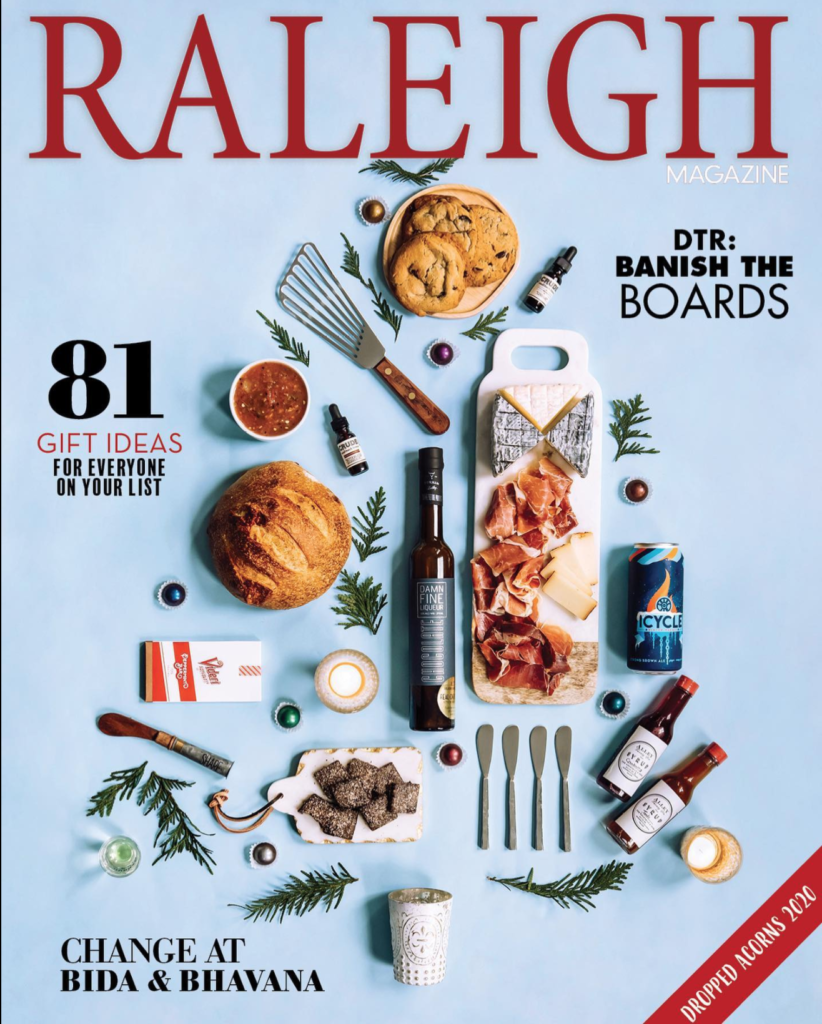 December Raleigh Magazine Feature