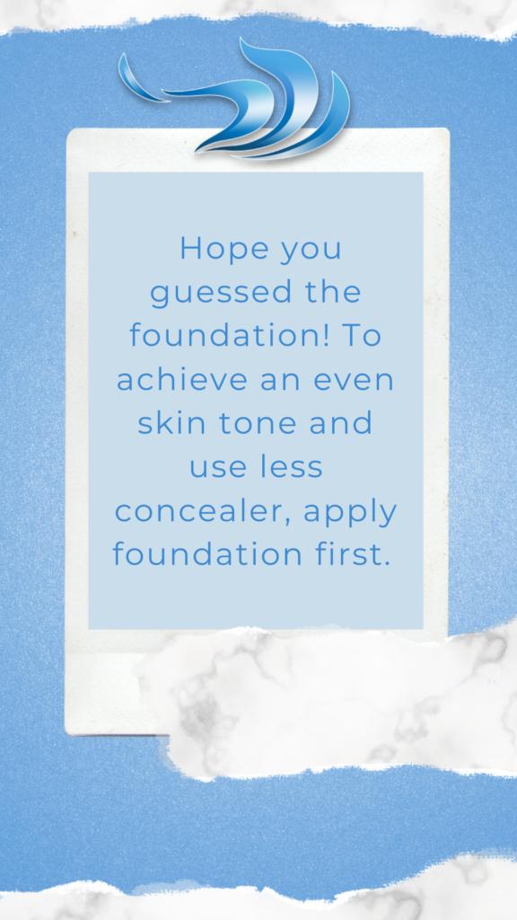 Azura Skin Care Routine Order answer 4