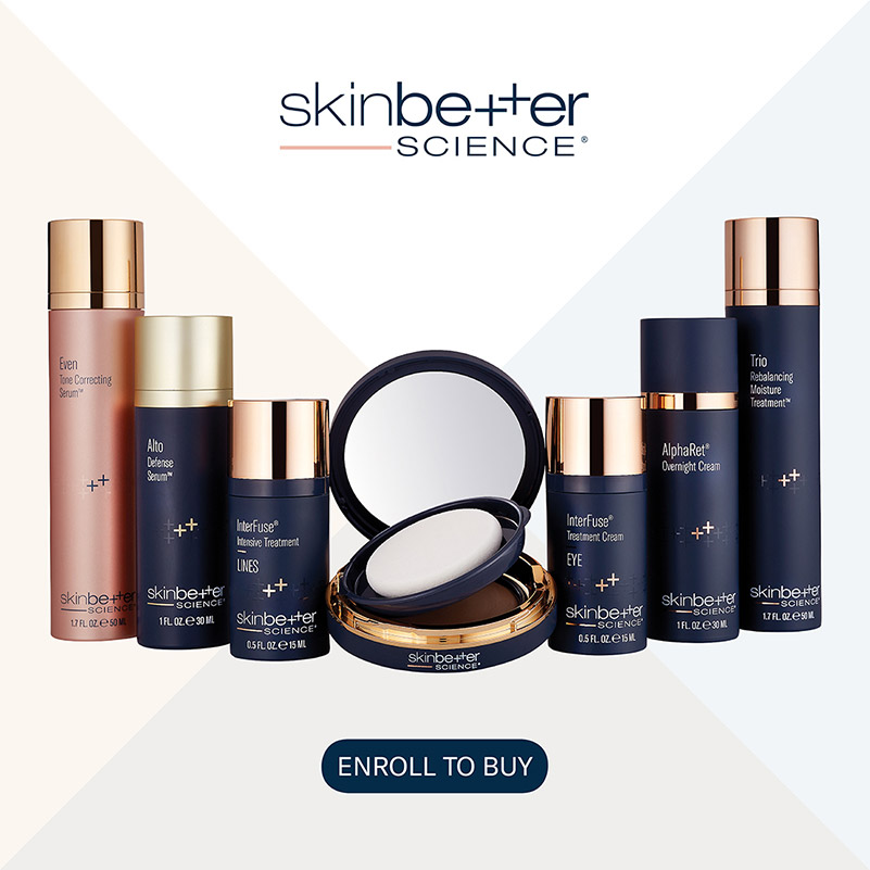 Shop skin better science products at Azura Skin Care in Cary, NC