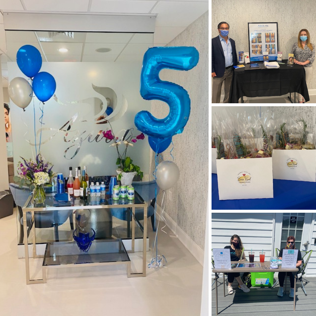 Azura Skin Care Center Cary Five Year Anniversary Party Photos