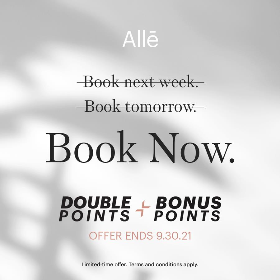 Earn Up to $180 in Allē Points When You Book BOTOX® & JUVÉDERM® on the Same Day at Azura Skin Care Center