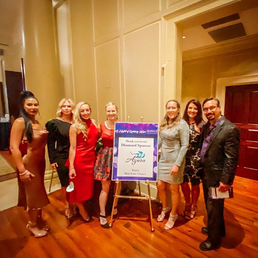 Azura Skin Care Center at A Night of Raising Hope September 2021